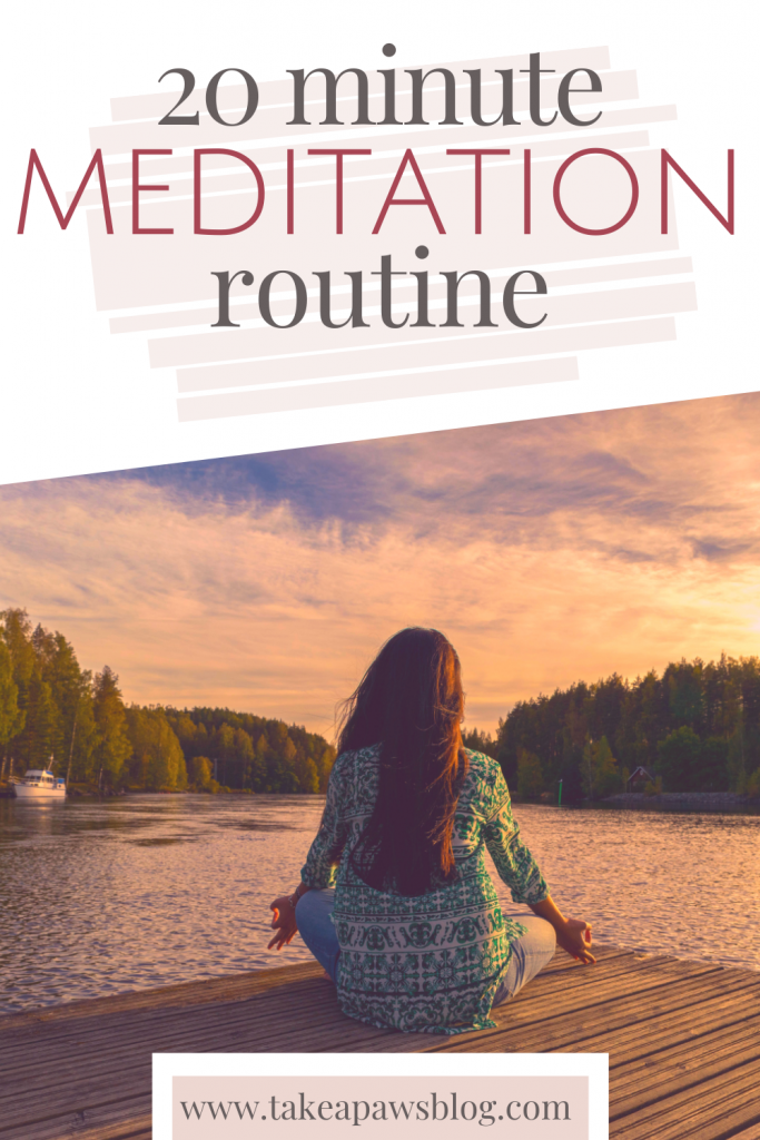 20 minute meditation routine