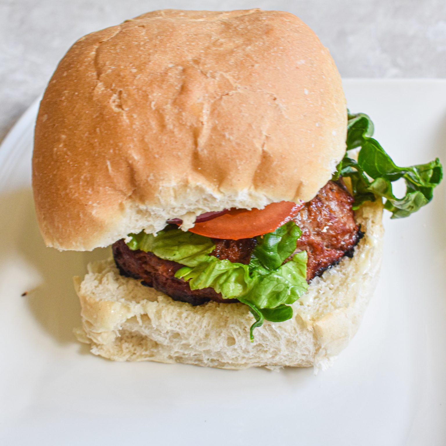 homemade reggae reggae burger recipe